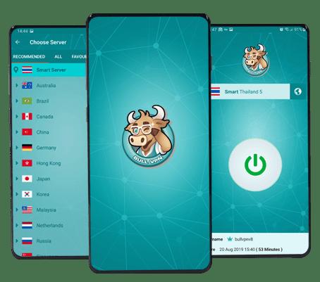 Bull VPN สำหรับ Android