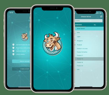 Bull VPN สำหรับ iOS
